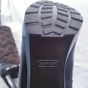 Coach Shoes - NWT Coach boots